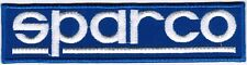 Sparco Motorcycle Sport Bike Automotive Car Racing Badge Embroidered Patch