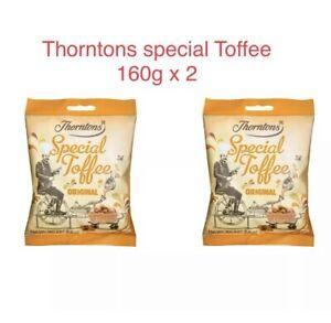 Thorntons Original Toffee Special Bag 160g X 2 bundles