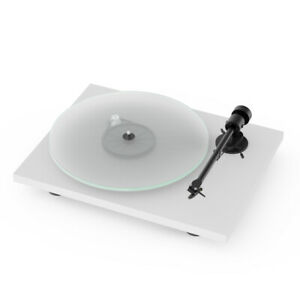 Pro-Ject T1 Phono SB High Quality Hi Fi Reference Turntable - White