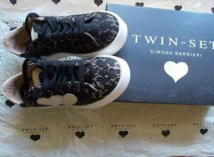 Scarpe Sneakers in pizzo Twin Set Simona Barbieri taglia 37 sconto 71%