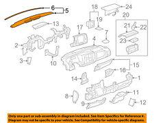 GM OEM Instrument Panel Dash-Upper Trim Panel 23224733