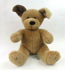 "Build a Bear Puppy Dog Brown Two Tone Ears Soft Plush Stuffed Animal 14"" Sitting"