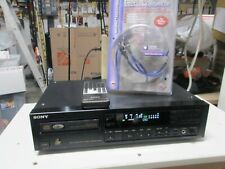 Rare Vintage Sony Cdp-790 single Compact Disc Player with Optical Digital out,