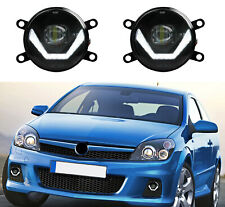 LED Nebelscheinwerfer + Tagfahrlicht Black Cree Chip Opel Astra H OPC LSW4