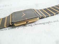 Thin High-End Seiko Lassale 12 Jewel Quartz Dress Watch Model 2F50-5689 Runs