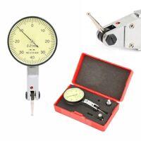 38mm Précision levier Mesure Comparateur Indicateur à molette Cadran Jauge Set