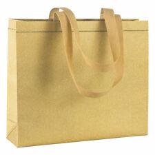 Borsa Glitter in tnt laminato- kit 10pezzi- shopper promozionale o per la spesa