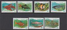 VIETNAM :1987  Fish set SG1111-1117 MNH