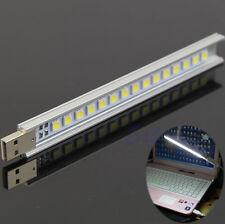 15 LED USB Strip Light Lamp Maximum Illumination Portable For Laptop PC Notebook