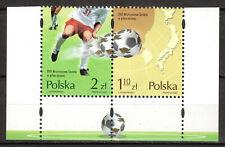 Poland - 2002 Soccer championship Japan / S. Korea - Mi. 3978-79 MNH