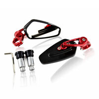 """Motorcycle 7/8"""" Handle Bar End Rearview Mirrors For Honda Yamaha YZF R1 R6 MT07"""