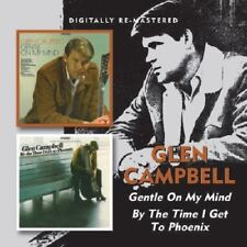 Glen Campbell Gentle On My Mind/By The Time I Get To Phoenix 2on1 CD NEW SEALED