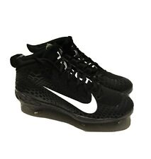 Nike Force Zoom Trout 5 Pro Black Metal Baseball Cleats Mens Size 9 (AH3372-010)