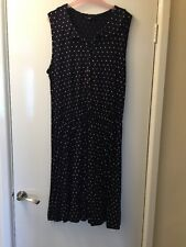 F&F Navy And White Spotted Dress , Never Been Worn Size 14