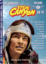 ALL NEW Steve Canyon TV VOL 3 DVD features last 10 shows