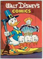 Walt Disney's Comics and Stories #135 FINE Donald Duck Thankgiving Cover 1951