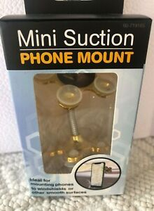 Mobile Phone Mount for Car or Home with Mini suction cups & flexible arm