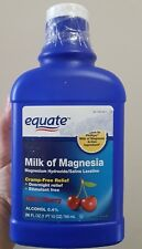 Equate Milk Of Magnesia Saline Laxative Wild Cherry , 26 fl oz