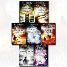 Stephen King Dark Tower 7 Books Collection Set (Gunslinger, Waste Lands) New