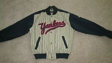 NY Yankee Cooperstown Collection Majestic MLB Pinstripe Jacket Men's Large