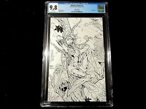 Monster Planet #1 - CGC 9.8  Cover H! Sketch Cover! Subscription Exclusive