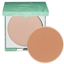 Clinique .35 oz Full Size Superpower Double Face All Color Makeup Compact