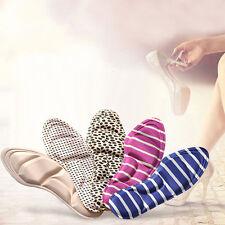 Ladies Feet Care Massage High Heels Sponge 3D Shoe Insoles  Pads DIY Cutting