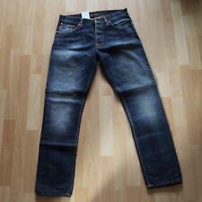 NEU Nudie Jeans,  Fearless Freddie (Loose Anti Fit) Faded Navy 32/32