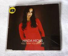 Hinda Hicks - You Think You Own Me - CD Single