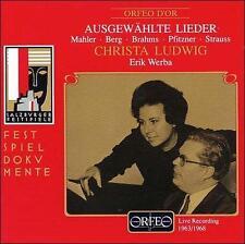 Berg, Alban : Ausgewählte Lieder (Live Recording 1963 CD