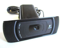 LOGITECH B910 HD 1080P Carl Zeiss Tessar USB Webcam con Microfono