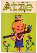 DDR ATZE Heft 6/1976 FDJ Verlag Junge Welt Fix und Fax *AZ52