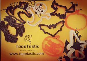 Halloween cookie cutter baking Bat Pumpkin Playdoh Decoration Biscuit Cat Witch