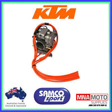 KTM 530 EXC-F SAMCO CARBY OVERFLOW BREATHER HOSE CARBURETTOR KIT ORANGE
