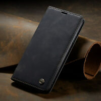 For Apple iPhone 11 Pro Max Leather Magnetic Flip Wallet Card Case Cover Stand