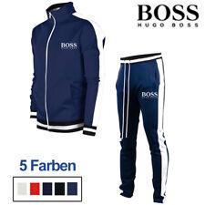 2PCS Herren Trainingsanzug Sportanzug Jogginganzug Jacke Sweatshirt + Hose Set