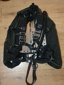 Dive Rite XTek Pro Wing And TransPac II Harness