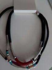 Black Cord Necklace Crafts Lobster Clasp joblot wholesale x 10