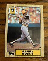 1987 Topps #320 Barry Bonds RC - Pirates