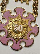 Vintage 10kt Gold Daughters of Rebekah 50 Year Pin