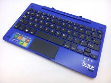 iView i896QW 2-in-1 Blue Tablet Laptop Keyboard + Palmrest + Touchpad & Dock 175
