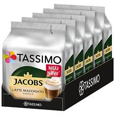 TASSIMO Jacobs Latte Macchiato VANILLA coffee pods / k-cups -5 PACK-