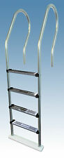 Stainless Steel Tread Reverse Bend In-Pool Ladder - Above Ground Swimming Pools