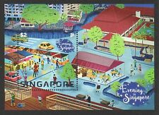 Singapore  2018 NATIONAL DAY EVENING IN SINGAPORE SOUVENIR SHEET OF 1 STAMP MINT