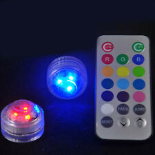 Waterproof Round Candle Color Changing LED Light + Remote Control Hot Sale Lamp
