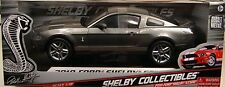 SILVER GRAY 2010 FORD SHELBY GT500 MUSTANG SHELBY 1:18 SCALE DIECAST METAL CAR