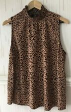 Newlook Leopard Print Tunic Size 18