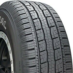 1 USED 265/60R18  GENERAL GRABBER HTS60 TIRE 18513