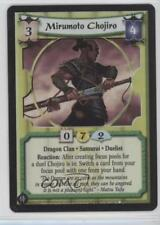2005 Legend of the Five Rings CCG Samurai Edition 84 Mirumoto Chojiro (Foil) 0b5