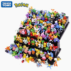 Tomy Different Styles Pokemon Toys Action Figures Model Kids Doll Birthday Gifts